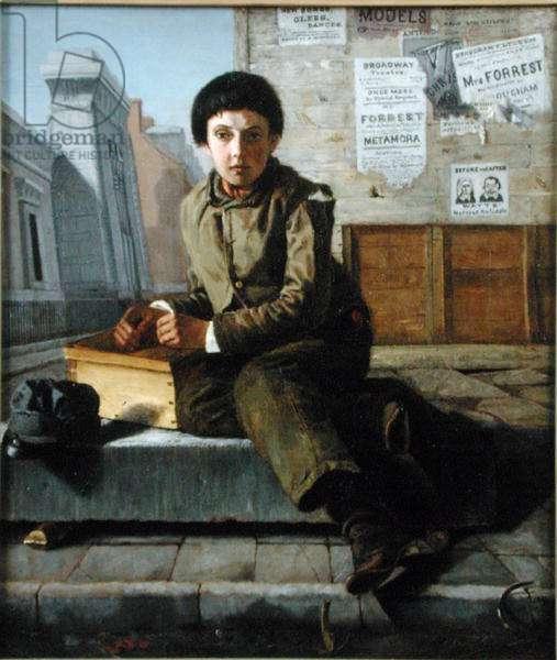 The Bootblack, 1852 (oil on canvas)