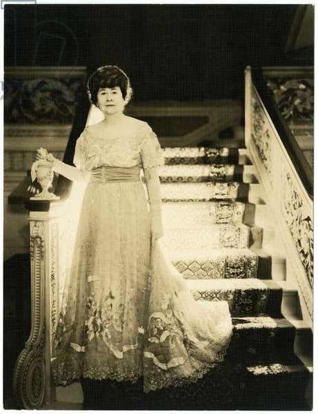 Mrs Frank G Logan of Chicago, art patron, c.1931-34 (gelatin silver photo)