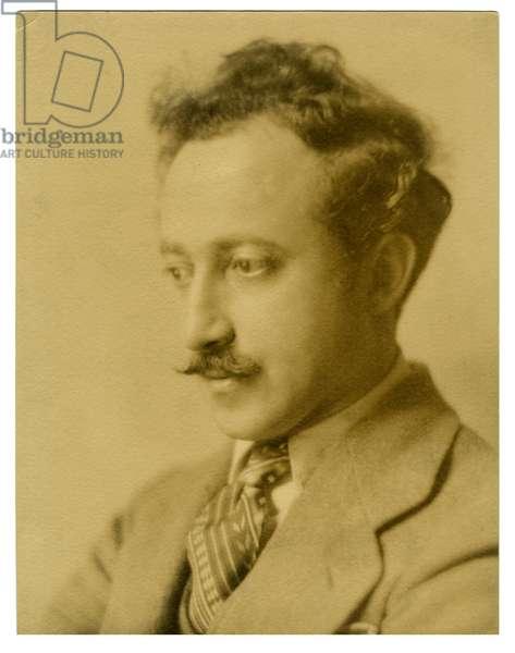 Joseph Auslander, Poet, c.1925-27 (gelatin silver photo)