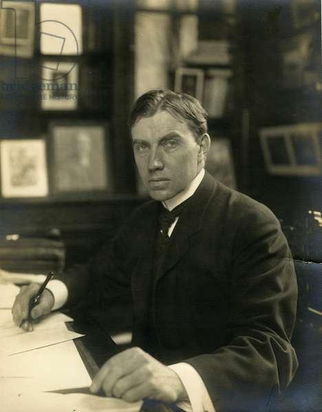 John Finley, editor NY Times, c.1905-28 (gelatin silver photo)