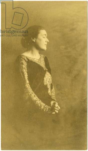 Fanny Hurst, c.1909-20 (gelatin silver photo)