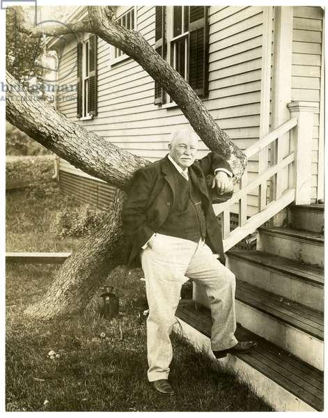 William Dean Howells, 1908 (gelatin silver photo)