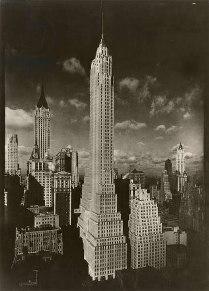 Cities Service Building, New York, USA, c.1932-38 (gelatin silver photo)