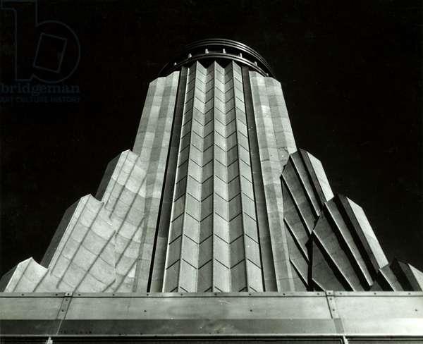 Empire State Building Construction - Mooring Mast Detail, New York, USA, c.1920-38 (gelatin silver photo)