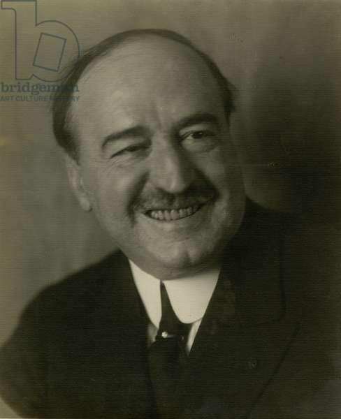 Vincente Blasco Ibanez, c.1905-21 (gelatin silver photo)
