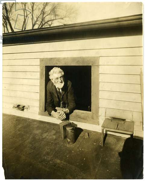 Uncle Chauncey Messenger, c.1905-09 (gelatin silver photo)