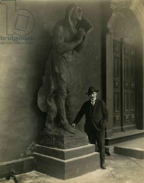 Solon Borglum, c.1904-22 (gelatin silver photo)
