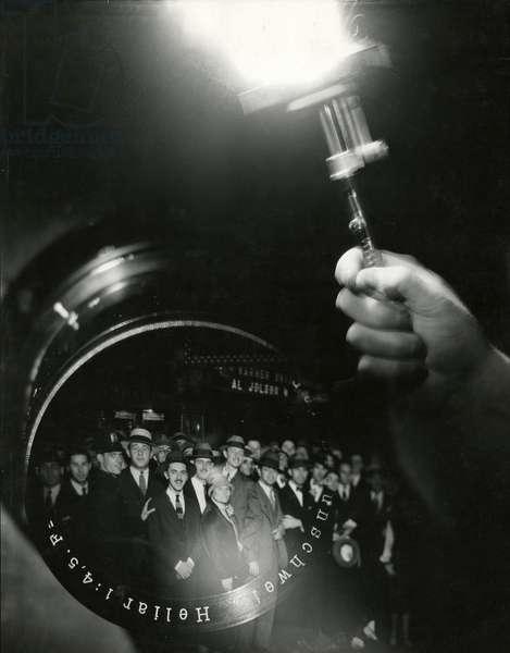 Opening Night. [photomontage], USA, c.1920-38 (gelatin silver photo)