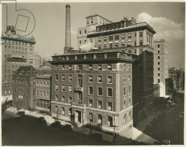 Lenox Hill Hospital, USA, c.1920-38 (gelatin silver photo)
