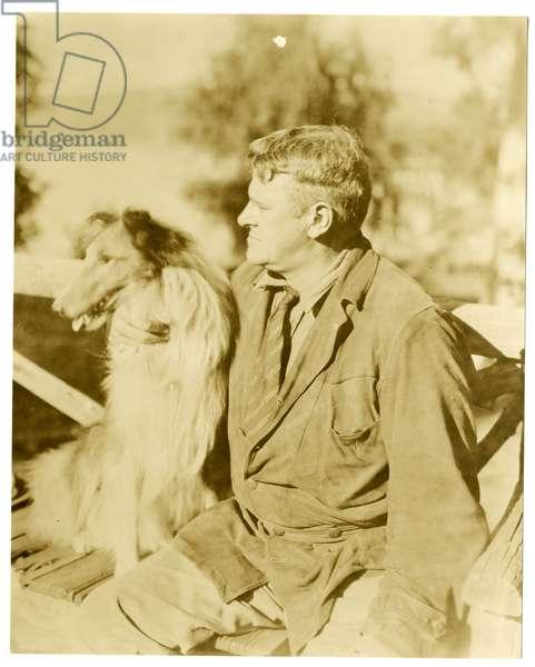 Albert Payson Terhune, writer, c.1916-28 (gelatin silver photo)