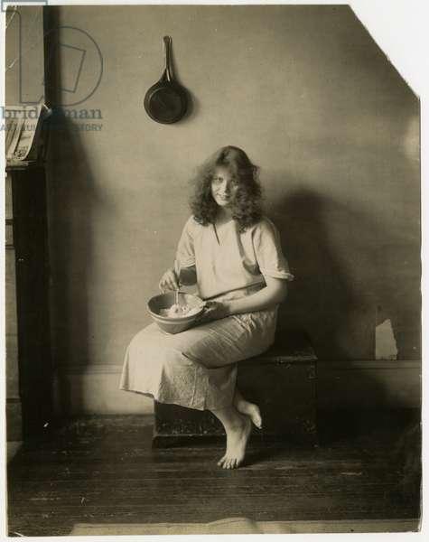 Winifred Lane, c.1905-20 (gelatin silver photo)