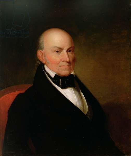 John Quincy Adams, 1835 (oil on canvas)