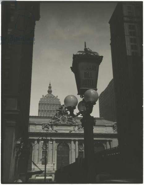 Grand Central Terminal, exterior, USA, c.1920-38 (gelatin silver photo)