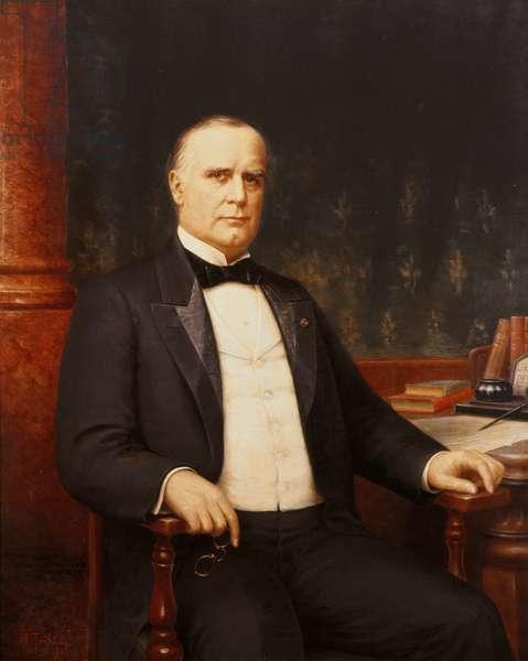 William McKinley (1843-1901) 1944 (oil on canvas)