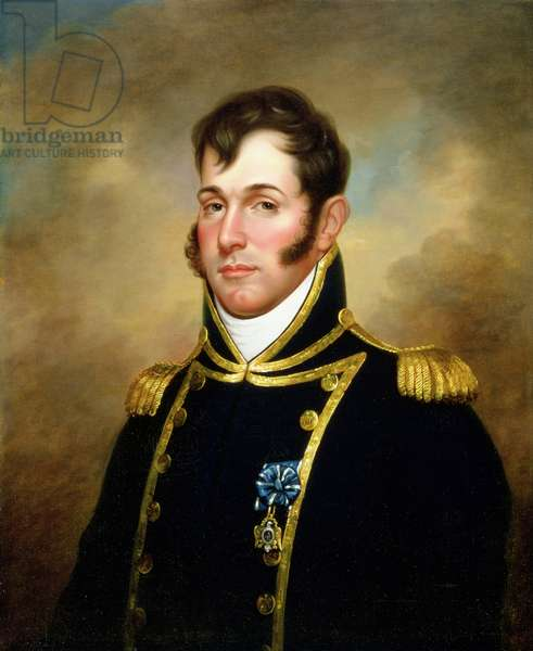 Oliver Hazard Perry (1785-1819), c.1813-14 (oil on canvas)