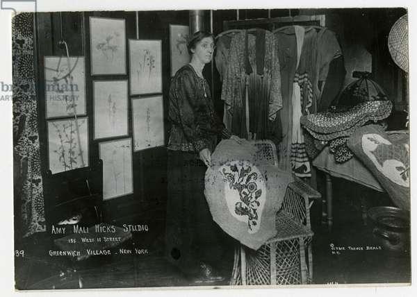 Amy Mali Hicks Studio, 158 West 11th Street, New York, USA, c.1905-40 (gelatin silver photo)