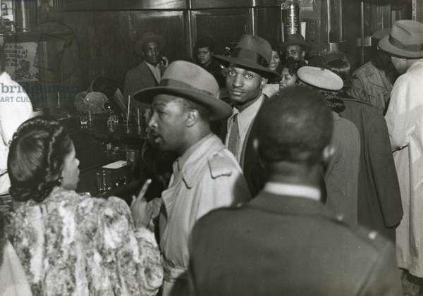 Bar in Harlem, New York City, c.1940 (b/w photo)