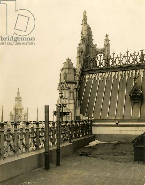 Copper roof tracery, Woolworth Building, c.1912 (photo)