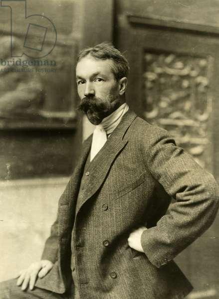 Karl Bitter artist, 1906 (gelatin silver photo)