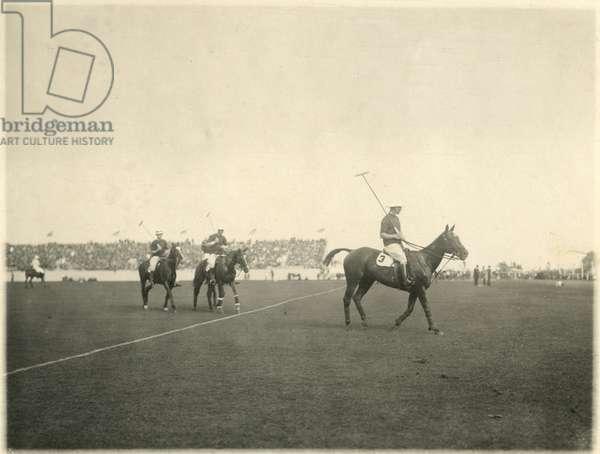 Polo, Sands Point, New York, New York, USA, 1934 (gelatin silver photo)