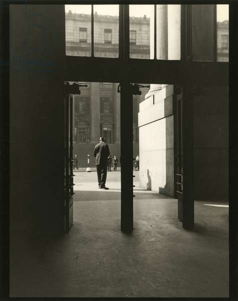 Porter, Penn Station, Eighth Avenue and 32nd Street, USA, c.1920-38 (gelatin silver photo)
