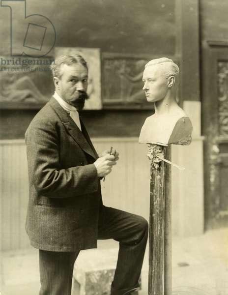 Karl Bitter, 1906 (gelatin silver photo)