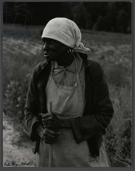 Ex-slave with a long memory, Alabama, 1938 (b/w photo)