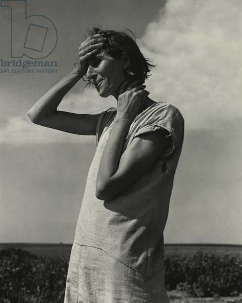 Woman of the High Plains. 'If you die, you're dead. That's all.' Texas Panhandle, 1938 (b/w photo)