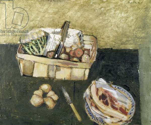 Kitchen Still Life (oil on canvas)