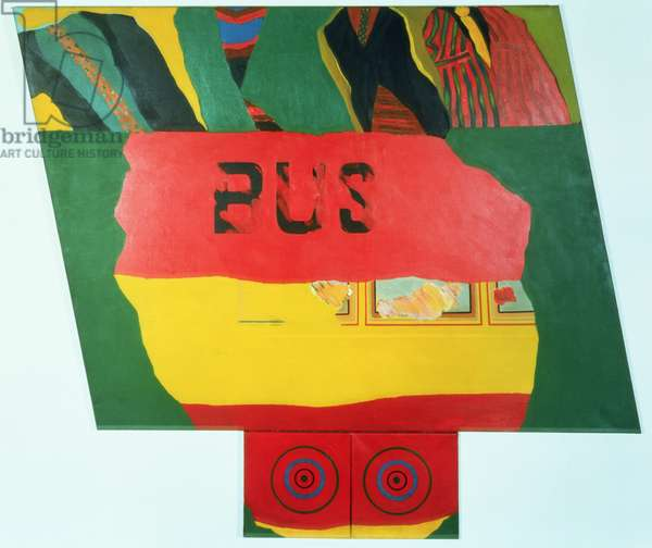 2nd Bus, 1962 (oil on canvas)