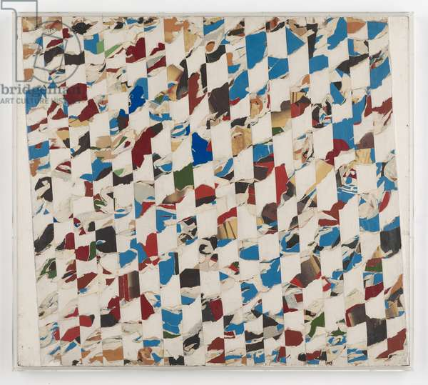 Untitled Pop Collage (ENPC 18), c.1962 (collage on paper on board)