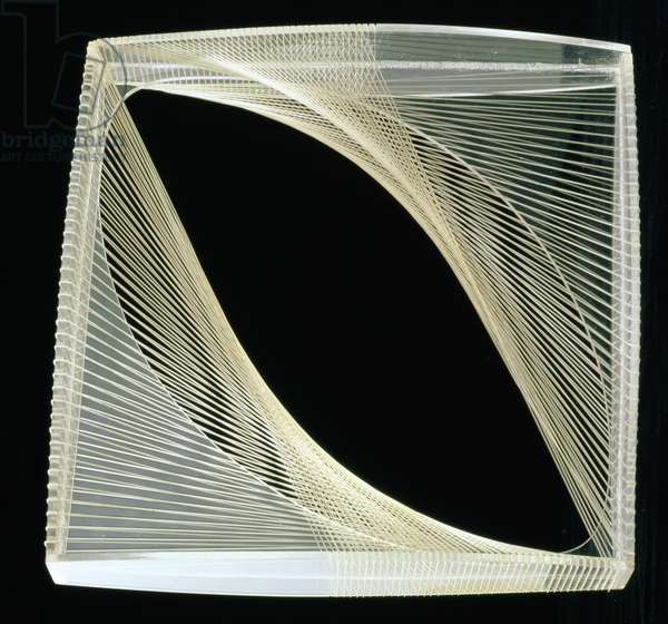 Linear Construction in Space No.1, 1942 (perspex with nylon monofilament)