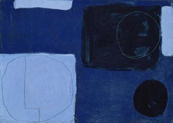 Pale Blue, Ultramarine & Indigo: November 1963