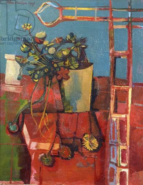 Corsican Still Life, 1947 (oil on canvas)