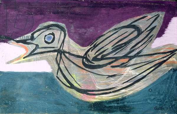 Bird, 1944 (w/c on paper)