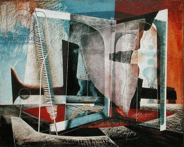 Painting, 1948, (oil on masonite)