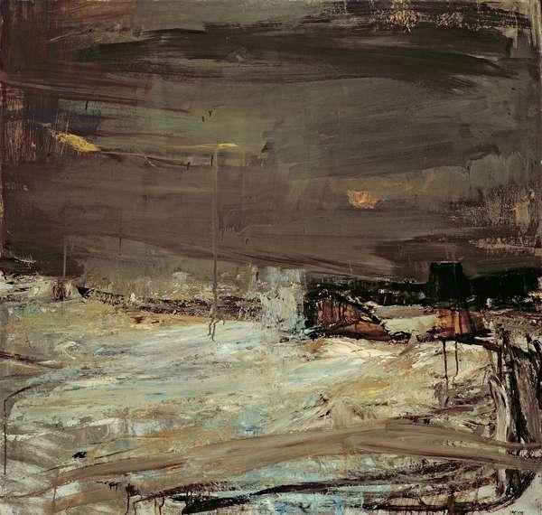 The Sea Winter (oil on board)