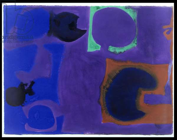 Blue, Brown, Emerald in Violet: August 1969