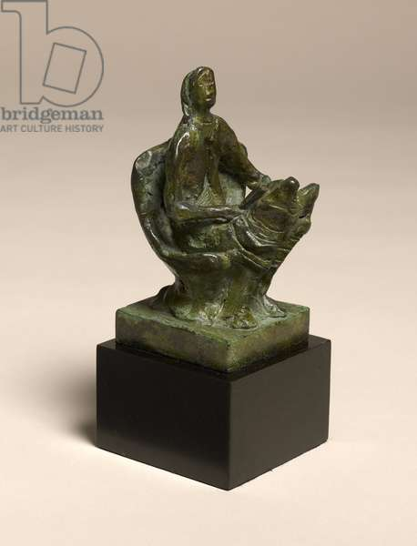Woman Reading, 1946 (bronze)