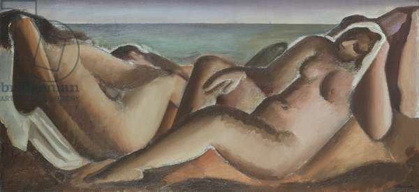 Bathers Resting, c.1936 (oil on canvas)