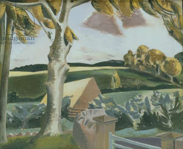 Cumberland Landscape, 1924 (oil on canvas)