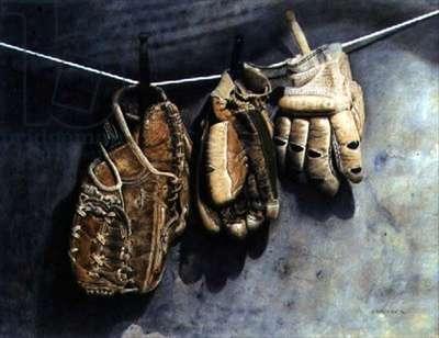 Gloves, 1896 (w/c on paper)
