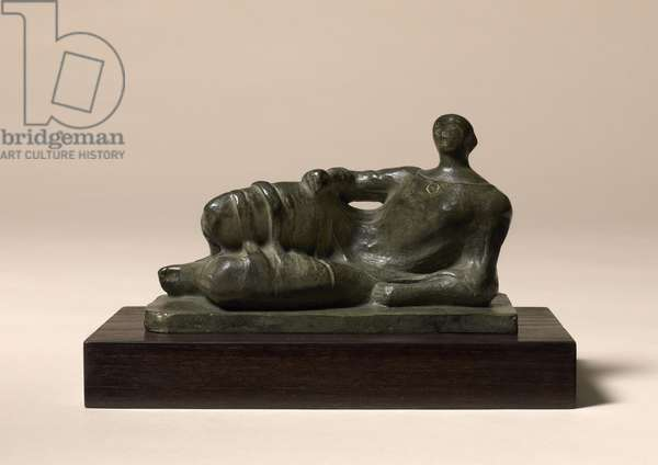 Reclining Figure, 1945 (bronze with green patina)