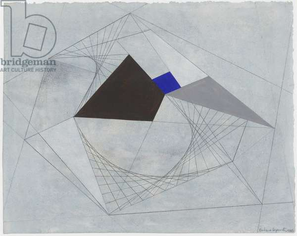 Drawing for Sculpture, 1940 (pencil, w/c & gouache on paper)