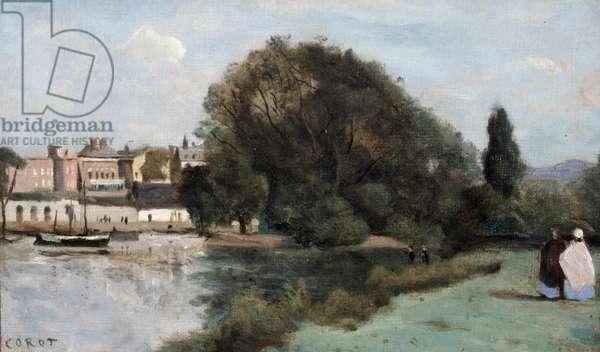 Richmond, near London, 1862 (oil on canvas)