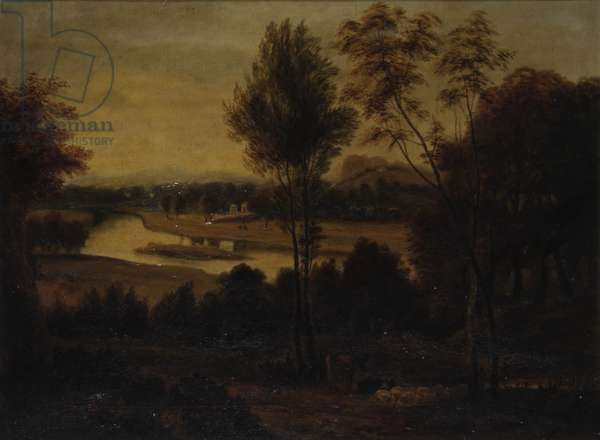 View from Wick House, c.1800 (oil on canvas)