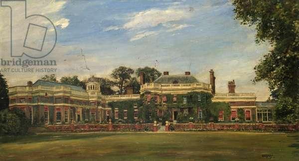 Richmond House, Surrey (oil on canvas)