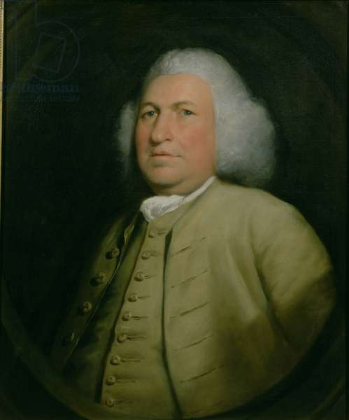Portrait of John Smith (oil on canvas)
