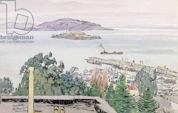San Francisco, 1942 (w/c on paper)