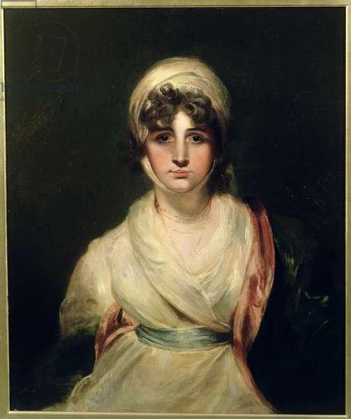 Portrait of Sarah Siddons (1755-1831) (oil on canvas)